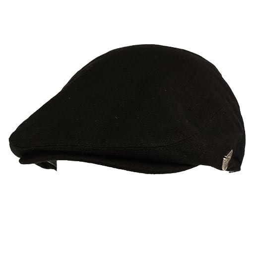 Men s Summer 100% Linen Front Snap Flat Golf Ivy Driving Cap Hat at ... 3db53a3a18c