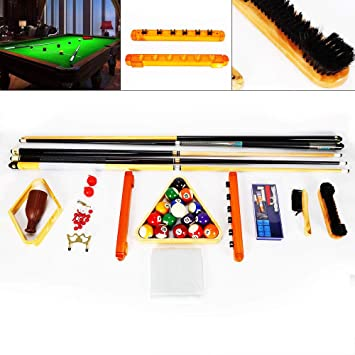 Z&Y Ltd Z&Y 29 Piezas/Juego Billar Snooker Pool Balls Cue Triangle ...