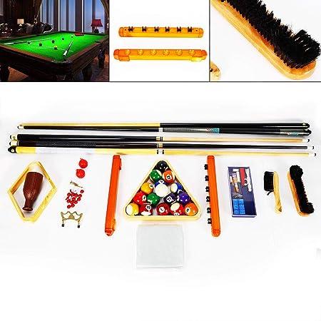 Z&Y Ltd Z&Y 29 Piezas/Juego Billar Snooker Pool Balls Cue Triangle ...