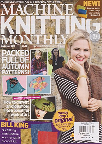 - Machine Knitting Monthly Magazine September 2017