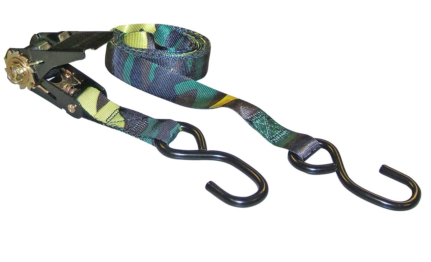 Erickson 01419 Camouflage 1'' x 10' Ratcheting Tie-Down Strap, 900 lb Load Capacity,  (Pack of 4)