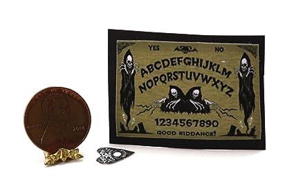dollhouse miniature halloween ouija board