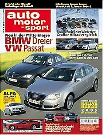 Auto Motor Und Sport Print Magazine