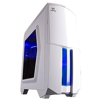 Hiditec NG-X1 BLACK - Caja de ordenador, Micro ATX - ITX, 3