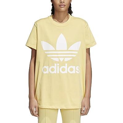 adidas Women's Originals Big Trefoil Logo Tee (M, Sand): Clothing