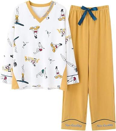 Pijamas para Mujer,Conjunto De Pijamas para Mujer Ropa De ...