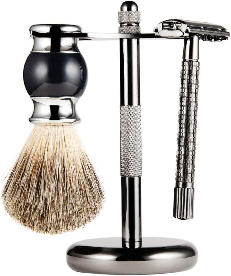 Juego de afeitadora manual para hombres Juego de regalo de titular ...