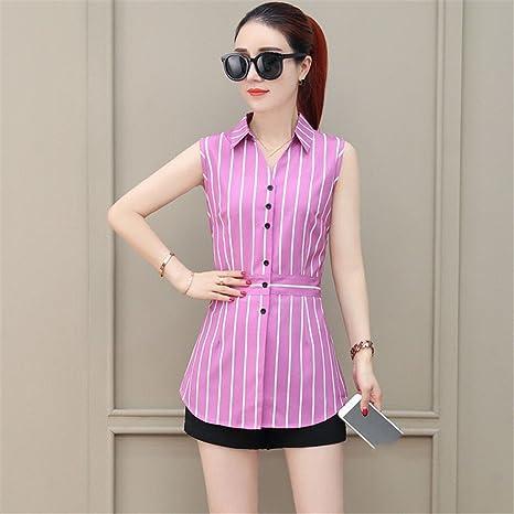 TAIDUJUEDINGYIQIE Camiseta de Manga Corta para Mujer Camisa Slim Dress, Rosa, 2XL: Amazon.es: Deportes y aire libre