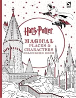 Harry Potter Colouring Book Celebratory Edition: The Best of Harry ...