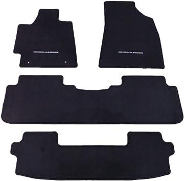 For Toyota Highlander 2008-2013 Set of 4 All Weather Mats Black Genuine