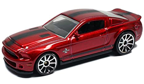Hot Wheels  Ford Shelby Gt  Super Snake In Burgundy