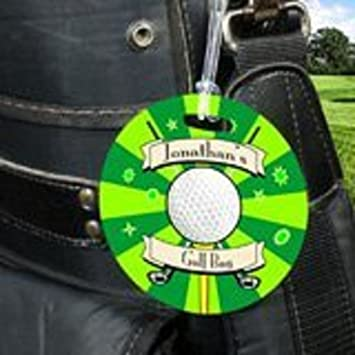 Image Unavailable. Image not available for. Color  Personalized Golf Bag Tag 718d6ee3b52db