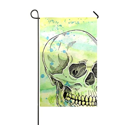 Amazon.com : Sophia Emma Yard and Home Outdoor Decor -Crazy Skull ...