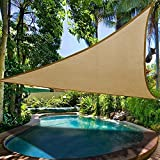 Waterproof Sun Shade Canopy Outdoor Garden Patio Pool Shade Shelter Triangle Camping Picnic Tent Patio Furniture Covers
