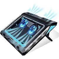 Almohadilla de refrigeración para portátil, enfriador para portátil de 14 a 17 pulgadas, portátil para juegos, portátil…