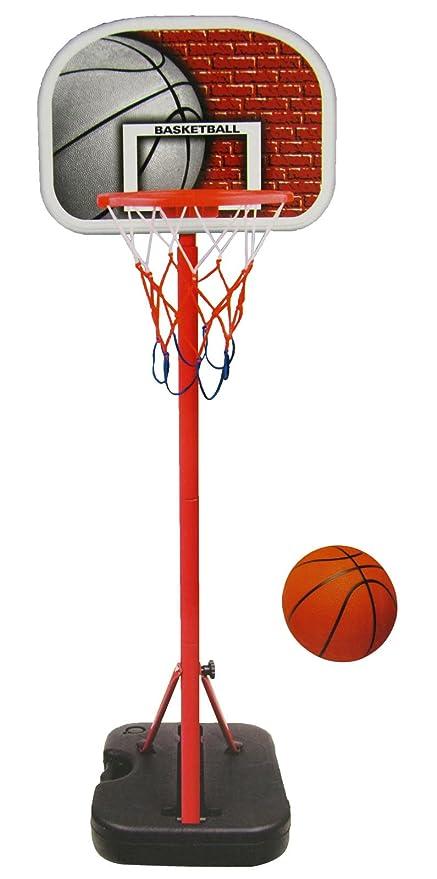 Amazon.com: Sistema portátil de baloncesto juvenil ...