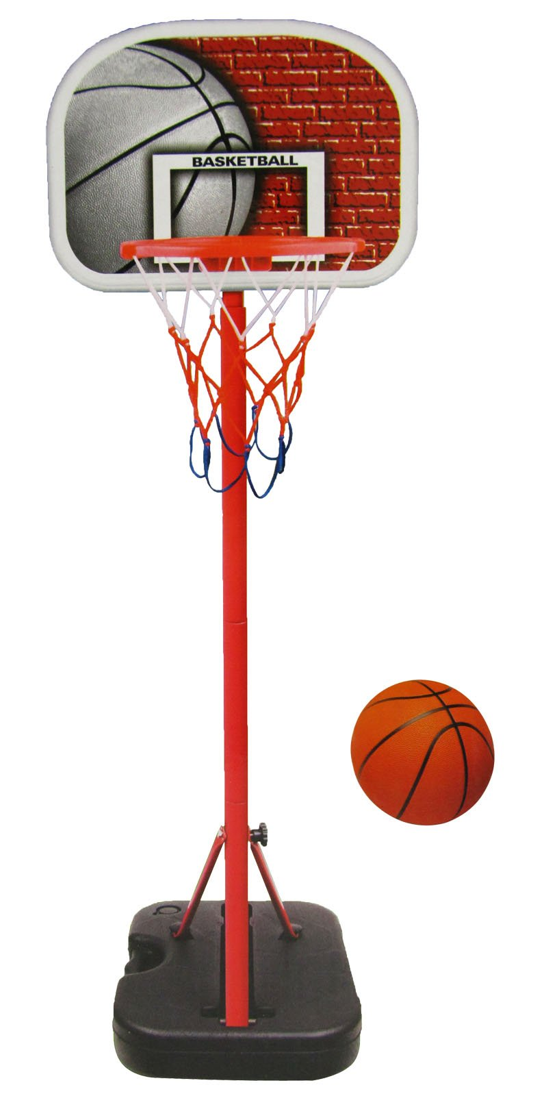 Liberty Imports Junior Portable Basketball System Hoop Stand