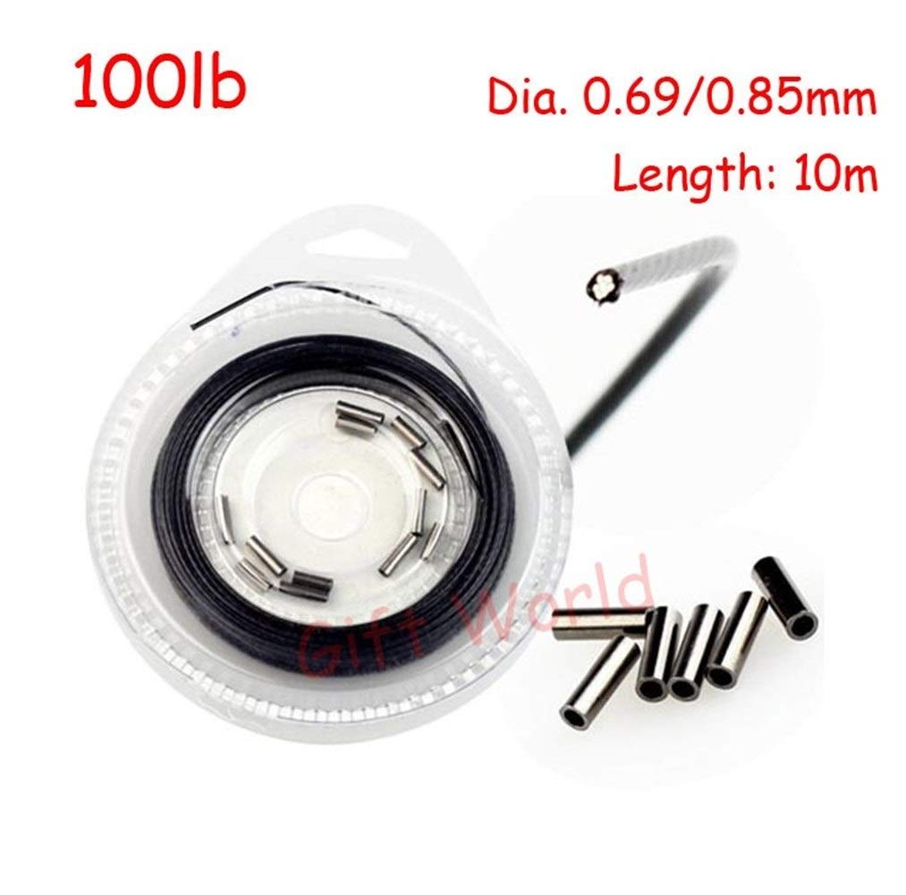Stainless-Steel Strands Wire Fishing Line Practical Strong Trace Fishing 10m