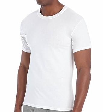 d1677f57c64e excell 3 Pack Mens Plain White Crew Neck T-Shirts Tagless Soft Cotton -  White - Medium: Amazon.co.uk: Clothing