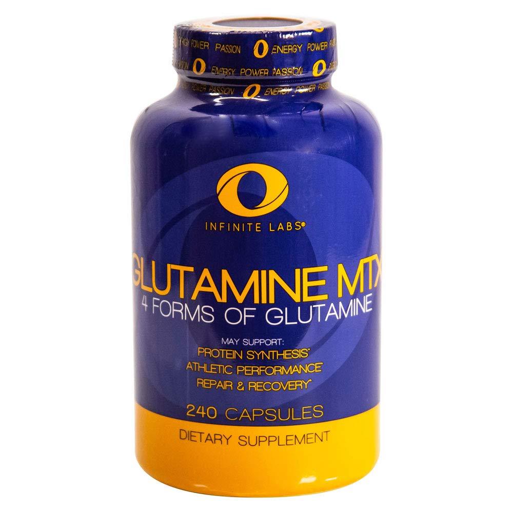 Infinite Labs Glutamine MTX, 240-Capsules
