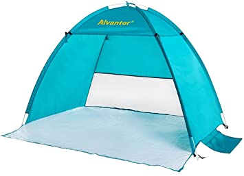 Beach Tent CoolHut Beach Umbrella Sun Shelter Instant Portable Cabana Shade Outdoor Pop Up Anti-  sc 1 st  Amazon.com & Amazon.com: Beach Tent CoolHut Beach Umbrella Sun Shelter Instant ...
