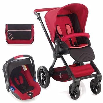 Jane y silla de paseo Muum Koos asiento de coche sistema de viaje - rojo: Amazon.es: Bebé
