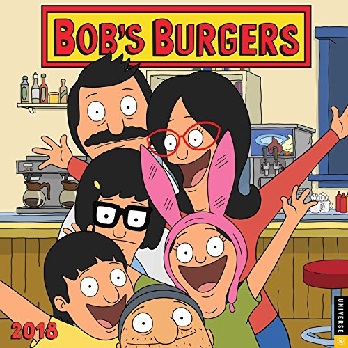 Bob's Burgers 2018 Wall Calendar