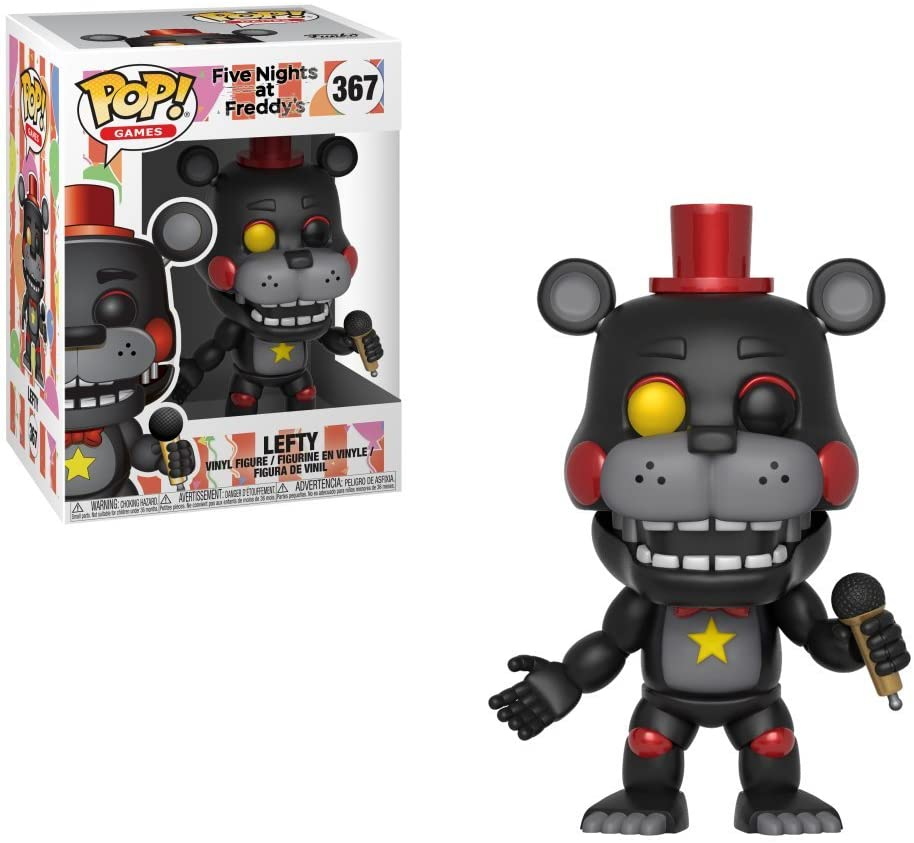 Pop! Vinyl Five Nights at Freddys - Lefty: Amazon.es: Juguetes y juegos