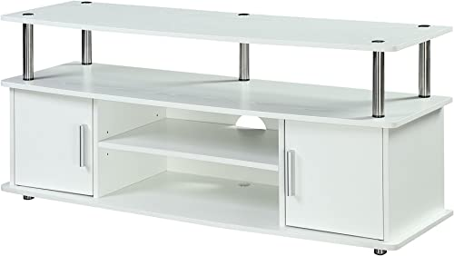 Convenience Concepts Designs2Go Monterey TV Stand, White