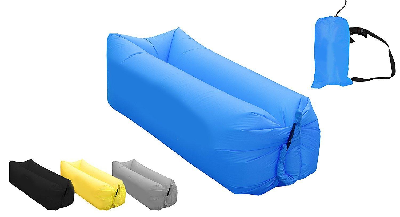 Amazon.com: AB VOLTS Tumbona inflable rápida portátil para ...