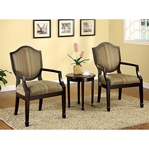 Metro Shop Furniture of America Caroline 3-piece Living Room Furniture Set