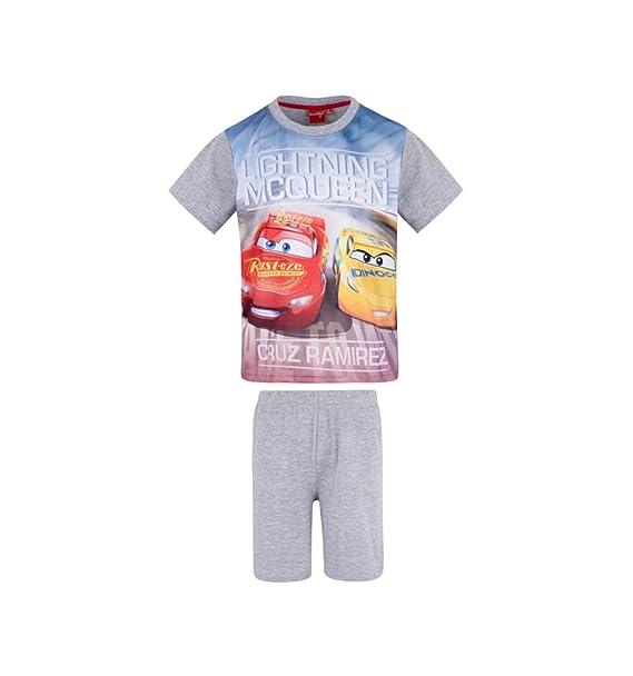 Flash Mc Queen - Pijama Dos Piezas - para niño Gris 3 Años