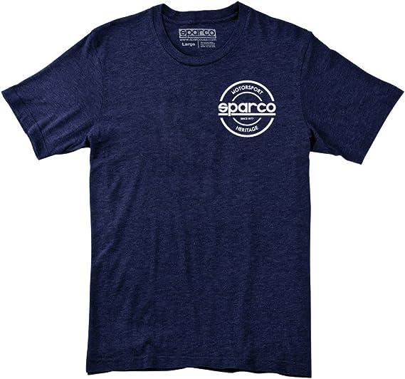 Sparco SP02450BM4XL T-Shirt Seal Tri NVY XL