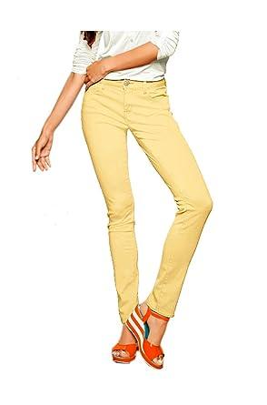 Mavi - Jeans - Skinny - Opaque - Femme Jaune Jaune  Amazon.fr ... 8c65b41ce14