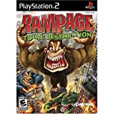 Rampage Total Destruction - PlayStation 2