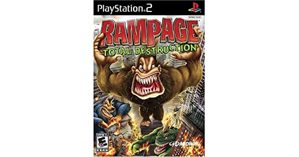 rampage video game ps2