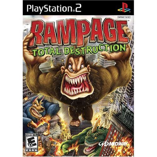 Amazon Com Rampage Total Destruction Playstation 2 Video Games