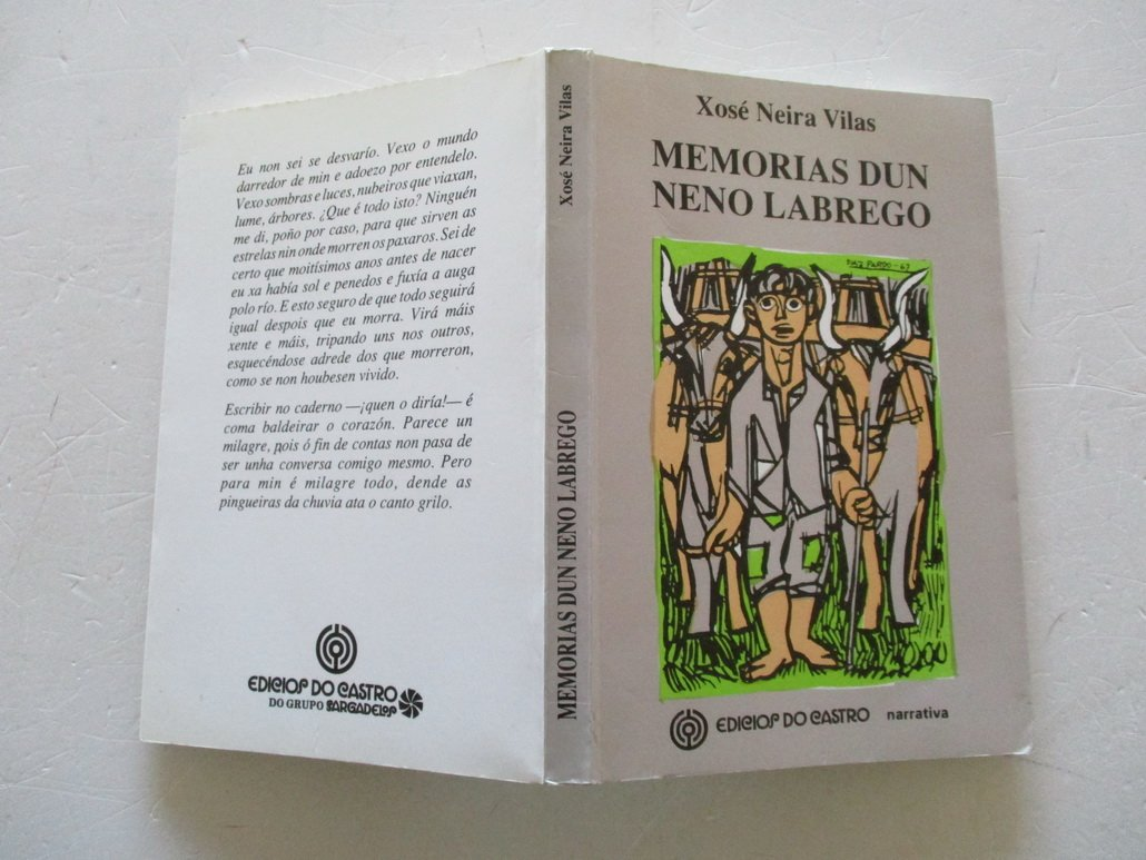 Memorias Dun Neno Labrego Narrativa Amazon Co Uk Neira Vilas Xose 9788485134700 Books