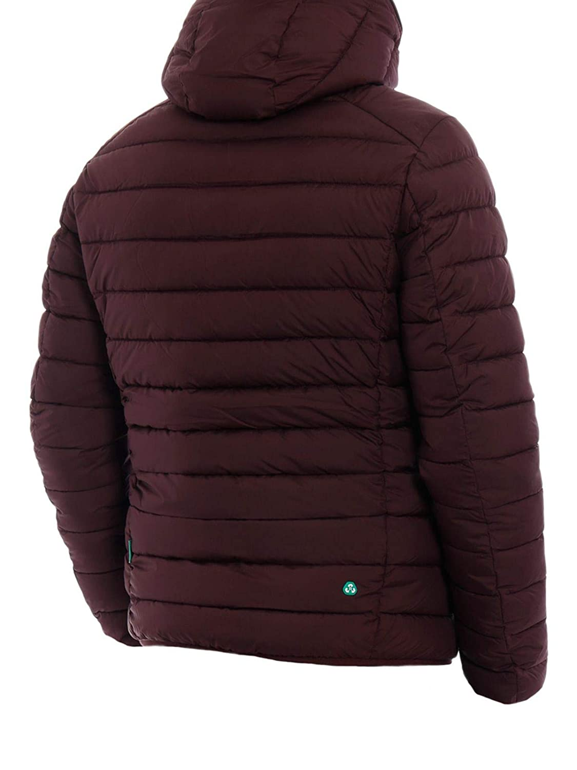 Save The Duck Mens D3712MRECY71250 Burgundy Polyester Down Jacket
