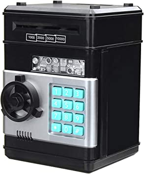 Caja Fuerte de Seguridad de Dinero con contraseña Multi-botón ...