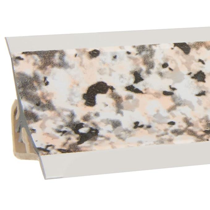 HOLZBRINK Rinconera Interior para el Copete de Encimera Granito Listón de Acabado PVC Copete para Encimeras de Cocina 23x23 mm: Amazon.es: Bricolaje y ...