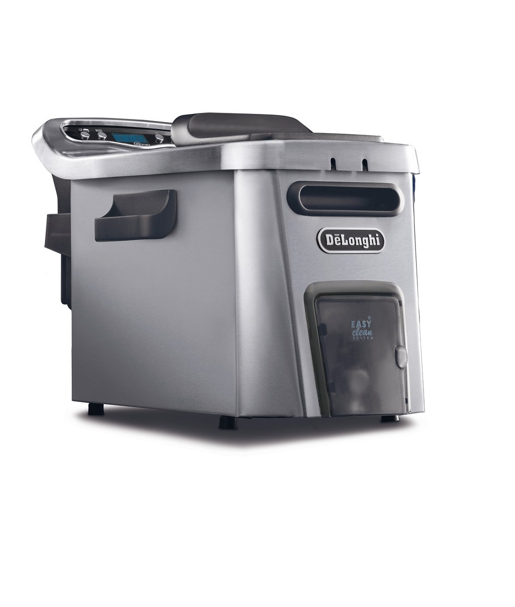 DeLonghi D44528DZ Livenza Easy Clean Deep Fryer, Silver