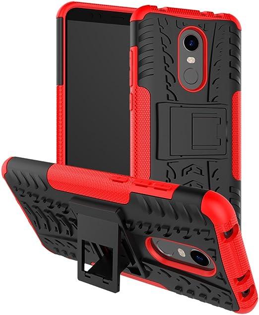 XINYUNEW Funda Xiaomi Redmi 5 Plus, 360 Grados Protective+Pantalla ...