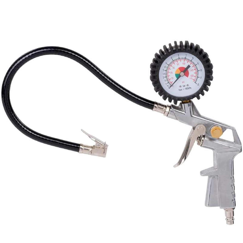 POWERPLUS POWAIR0100 Pistola de hinchado con man/ómetro