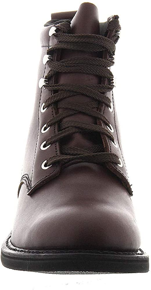Work America Mens 6 Farm 9.5 4E US Brown