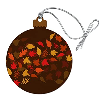Christmas Leaves.Amazon Com Graphics More Fall Leaves Autumn Wood