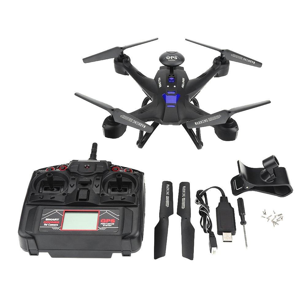 Alomejor RC Quadcopter Drone, Drohne Mit 2MP Kamera WiFi HD Drone Quadrocopter ferngesteuert Headless-Modus Quadcopter Spielzeug