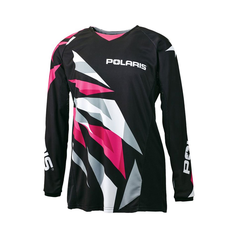 OEM Polaris Youth Black Pink Fly Racing Off Road Mesh Jersey Sizes S-3X
