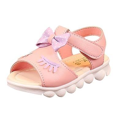 eda37be70 Wawer Sandalias de Vestir de Caucho Para Niña