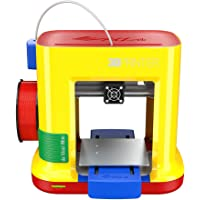 "da Vinci miniMaker 3D Printer -6""x6""x6"" Built Volume (Includes: $14 300g PLA Filament, 49 STEAM 3D Design Tutorial eGift Card – Must Register Product, 10 Maintenance Tools, XYZmaker CAD Software)"